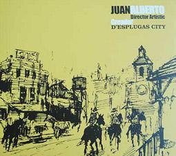 Juan Alberto, director artístic. Creador d'Esplugas City